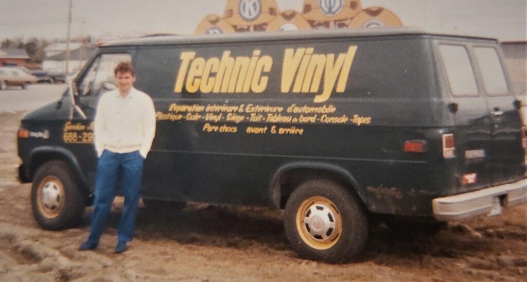 Serge Béliveau fondateur technic vinyl