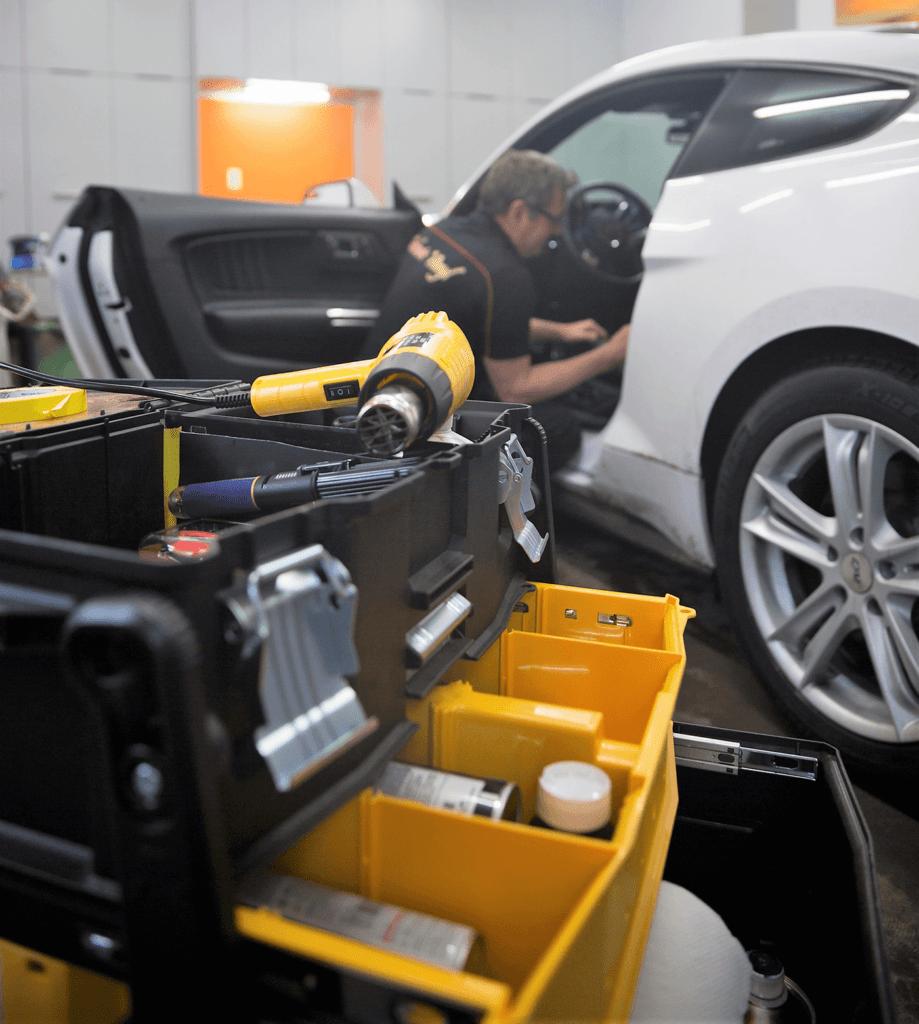 article 4 actions écologiques pour la réparation automobile de Technic Vinyl